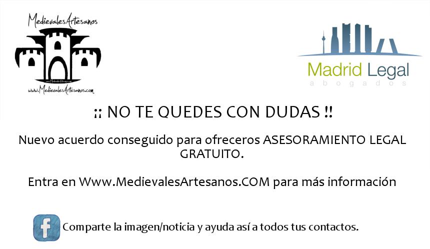 Acuerdo Medievales Artesanos - MadridLegal