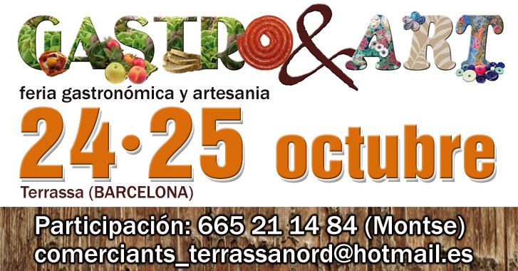 Terrassa. Feria Artesania Octubre 2015