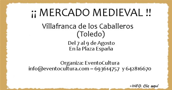 Mercado Medieval Villafranca de los Caballeros